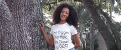 The Bigger The Hair The Closer To GOD! 100% Organic Cotton Tee Shirt