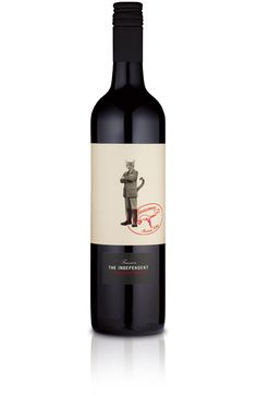 The Independent / i'm in love with this label for Australian boutique winery Teusner. design by Sage Visual Solutions.