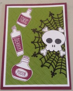 Cynthia McQueen - The Paper Queen www.aCrowningCreation.com Stampin Up Howl-o-ween Treat, Sweet Hauntings, Spider Web Doilies