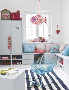 Cool playroom.