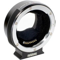 Metabones Smart Adapter Mark IV for Canon EF or Canon EF-S Mount Lens to Sony E-Mount Camera (MB_EF-E-BT4) with Replacement NP-FW50 Battery & Microfiber Cleaning Cloth