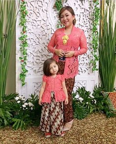 59 Ideas Baby Twins Fashion Mom For 2019 Kebaya Lace, Kebaya Hijab, Kebaya Brokat, Batik Kebaya, Batik Dress, Trendy Fashion, Kids Fashion, Fashion Show Themes, Model Kebaya