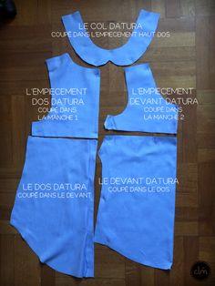 chemise pour homme + patron datura = trop cool