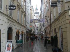 Salzburg, the birthplace of Mozart!