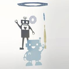 Robot Love Mobile Blue now featured on Fab.