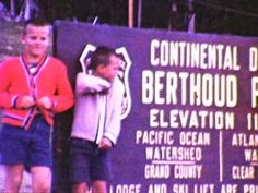Berthoud Pass, Colorado - 1967  - Home Movie Clips