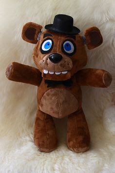 Five Nights at Freddy's Freddy Fazbear Plush by NightmarenCrafts