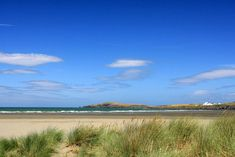 Poppit Sands Beach and Sand Dunes Cardigan Bay - photo by Janet Baxter