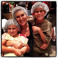 We were with FEED THE HUNGER today packing 155,000 meal  for children in Haiti. - @vickysjones- #webstagram