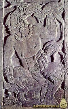 Estela de Madrid. Cultura Maya (Palenque, México) - Obra - ARTEHISTORIA V2