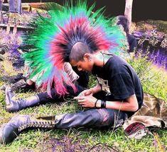 Punk Guys, 80s Punk, Emo, Punk Mohawk, Estilo Punk Rock, Mode Punk, Punks Not Dead, Gothic Metal, Riot Grrrl