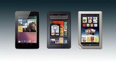 Nexus 7 vs. Kindle Fire vs. Nook Tablet