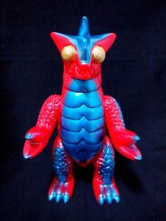 Bemon Space Monster Stage One Red #kaiju #toys #toy #sofubi #monster #monsters #art