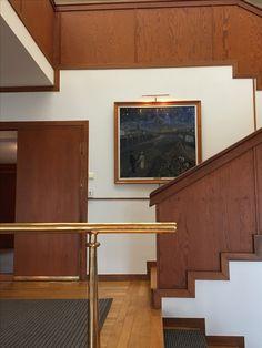 Knut Knutsen: Norges Ambassade i Stockholm (1948-52) Stairs, Architecture, Home Decor, Arquitetura, Stairway, Decoration Home, Room Decor, Staircases, Architecture Design