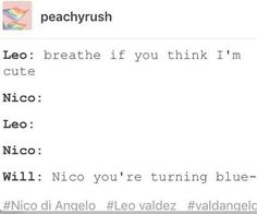 Nico loves will Leo back off he,s trunong purple in the face