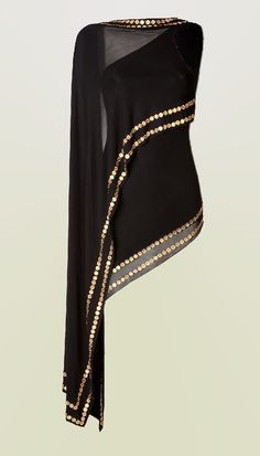 Donna Karan coin embellished top