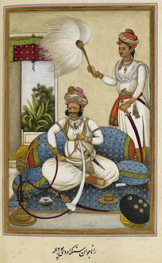 https://flic.kr/p/jYXV6n | Tazkirat al-umara, written for Col. James Skinner. Historical notices of some princely families of Rajasthan and the Panjab, chiefly of those near to Hissar where Colonel Skinner was stationed. Thirty-eight portraits. - caption: 'Portrait of Maharana Java | ID: B20037-90  Title: Tazkirat al-umara, written for Col. James Skinner. Historical notices of some princely families of Rajasthan and the Panjab, chiefly of those near to Hissar where Colonel Skinner was…