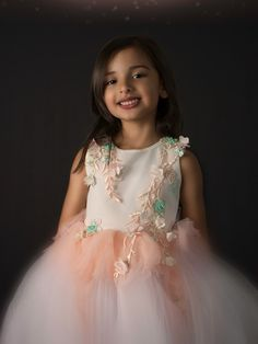 Ntsepi Dress    #partydress #girlsfashion #babyfashion #wedding #birthday Pretty Pastel, Tulle Dress, Special Occasion Dresses, Special Events, Perfect Fit, Party Dress, Flower Girl Dresses, Hair Accessories, Princess