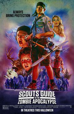 Scouts Guide to the Zombie Apocalypse - Movie Posters