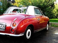 1st fav car ever. saw it in Kensington England in 2011. Limited Edition 1991 Nissan Figaro