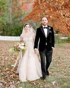 Elements of Style Blog | A Jaw Dropping Fall Wedding | http://www.elementsofstyleblog.com