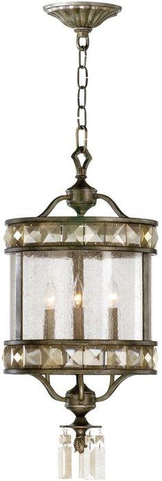Cyan Design 3-Light Lamp Entry Chandelier