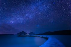 Blue Night by La Mo, via 500px.  The items here on Pinterest are the things that inspire me. They all have vision and are amazing photographs. I did not take any of these photos. All rights reside with the original photographers.