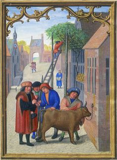 Da Costa hours [1515] - Morgan Library - Oktober Stierverkauf