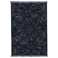 ....LUV this paisley, but not in blue..... VILSUND Rug, low pile - IKEA