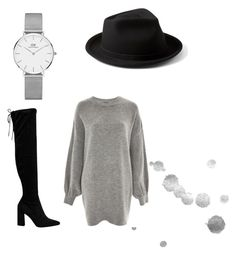 """Simple."" by djamilladjamilla on Polyvore featuring mode, Yellow 108, Treasure & Bond, Mint Velvet en Daniel Wellington"