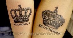 Crowns, Album and Tattoos and body art on Pinterest