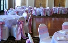 Pink and Lavender  Themed Reception