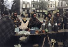 Польша 1932 г. на цветных снимках. Тени забытых предков - История и современность