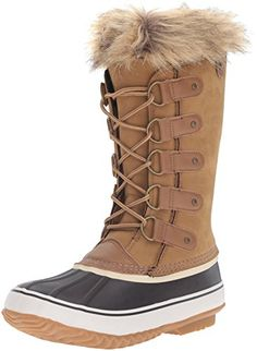 JBU by Jambu Women's Edith Snow Boot, Tan, 7.5 M US -- Click image to review more details.