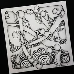 "258 Likes, 3 Comments - Rebecca Kuan CZT (@rebeccasecretbox) on Instagram: ""Zentangle - 061217. Artwork from Rebecca Kuan - #rebeccasecretbox Welcome to visit my FB Page:…"""
