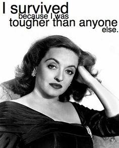 Love Bette Davis!