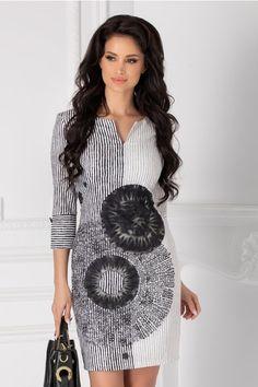 Rochii cu Imprimeuri Foxes, Mini, Floral, Dresses, Fashion, Clothing, Vestidos, Moda, Fashion Styles