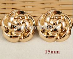 15mm Rose gold color rose design buttons, metal sewing buttons for garment,scrapbooking diy button(ss 4087)-in Buttons from Apparel & Accessories on Aliexpress.com | Alibaba Group