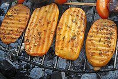 Riffelkartoffeln vom Grill