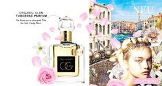 ORGANIC GLAM TUBEROSE PARFUM Organic, Summer, Organic Beauty, Summer Time, Verano