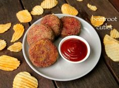 beetroot cutlet recipe, beetroot tikki recipe, beetroot patties with step by step photo/video. healthy party snack for kids with beetroot & other vegetables Veg Clear Soup Recipe, Clear Vegetable Soup, Vegetable Soup Recipes, Nut Recipes, Indian Food Recipes, Snack Recipes, Cooking Recipes, Healthy Party Snacks, Healthy Dinner Recipes