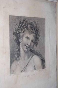 Francesco Bartolozzi Euphrosyne Goddess of Mirth