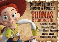 Toy Story Birthday Party Invitation