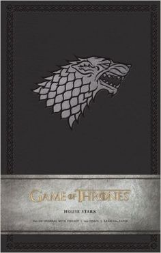 Game of Thrones Ruled Journal: House of Stark: Amazon.co.uk: Insight Editions: 9781608873685: Books