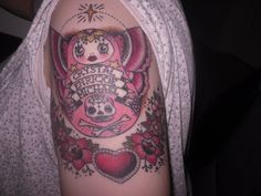 My matryoshka doll with my childrens names done by Alex from Cherry Hill tattoos in Naples FL.
