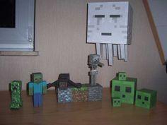 майнкрафт персонажи