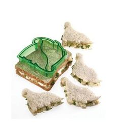 Kitchen Craft Let's Make Dinosaur Sandwich Cutter - need to remember to use this for a cooking project...