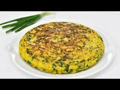 Tortilla cu spanac - reteta video | JamilaCuisine