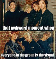 GOT7 be setting them visuals standards tho | allkpop Meme Center
