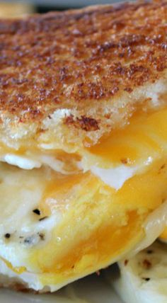 Fried Egg Grilled Cheese
